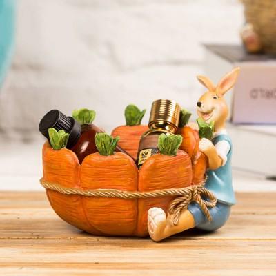 Succulent Flower pot, Lovely Cartoon Rabbit with Flower Pot Design for Birthday or Easter Present