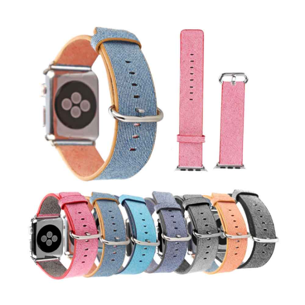 New Nylon Watchband for Apple Watch, Colorful Watch Strap, 38 & 42mm