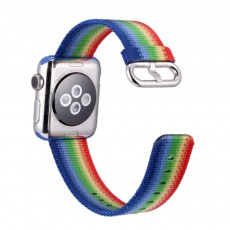 Rainbow Watch Band Nylon Band, Fashionable Watch-belt New Strap, Matching Apple Watch 38/42mm