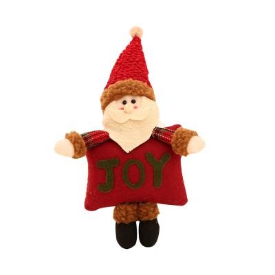 Christmas Decorations Small Dolls Ornaments, Three-dimensional Dolls Christmas Tree Pendants Cloth Pendant