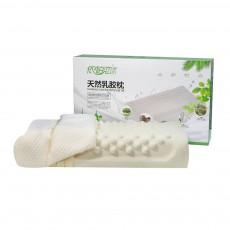 Breathable Massage Latex Pillow for Men Women, Universal Adult Spondylosis Prevention Natural Latex Pillow