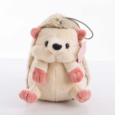 Hedgehog Plush Toy Boutique Doll, Creative for Car Accessories, Gifts for Kids and Small Pendant Key Pendant