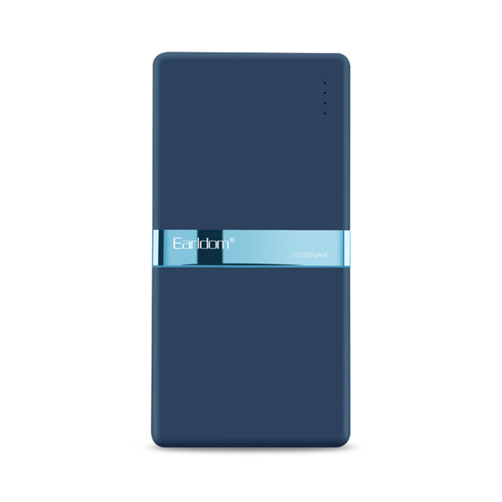 Stylish Business Power Bank 10000 5000mAh, Portable External Polymer Battery Charger USB Socket Power Bank for Cell Phone