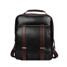 Japanese Style College School Bag, Backpack Vintage Casual Zipper Flap PU Leather Shoulder Bag Fashion Accessories