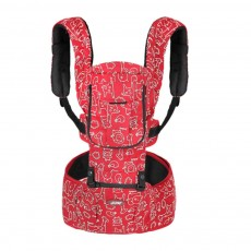 Front Embrace Waist Stool, Multifunctional Baby Carrier with M-Type for Four Seasons General, Breathable and Detachable Strap