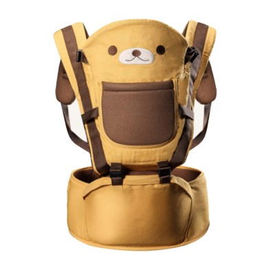 Soft Breathable Baby Carrier with Cartoon Animals Design, Multiple Functional Baby Lab for Newborn, Infant Toddler