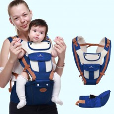 Breathable Baby Carrier, Durable Baby Lab with Multiple Functions and Storage Bag for Four Seasons General.