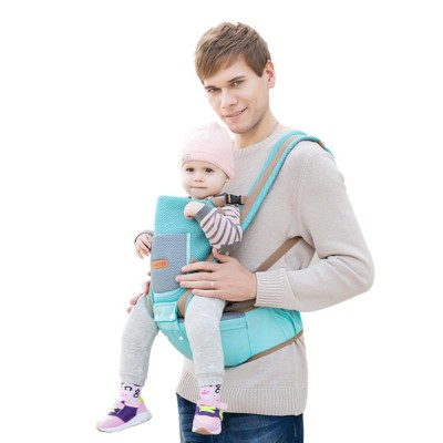 Breathable Baby Carrier, Multi-Functional Wrist Steel Strap With 3D Breathable Mesh Cloth For Baby