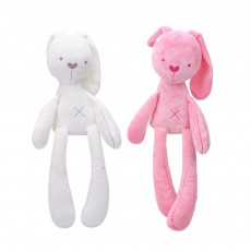 Long-legged Rabbit Sleeping Toys, Lovely Infant Baby Doll Bunny Toy for Kids