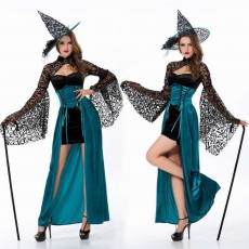 Easter Halloween Costume for Female, Women Sexy Dress Easter Dress Witch Costume Role-playing Game Uniform Dress Suit
