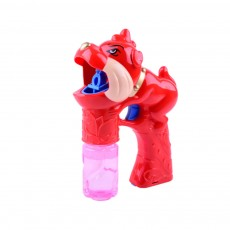 Children's Electric Bubble Gun, Glowing Music Blowing Bubble Toy, Automatic Bubble Machine With Bubble Water