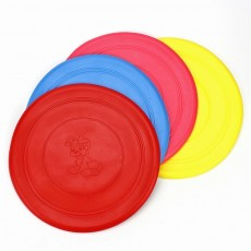 Dog Silicone Soft Frisbee Toy Bite Resistant for Throwing Interactive Pets Training Outdoors