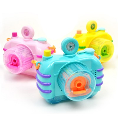 Sea Star Bubble Camera Light Music Electric Blowing Bubble Square Toy for Children to Play