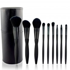 9 Makeup Brushes Set, Multifunctional Brushes with Small Waist Shape, Cosmetic Tools for Women