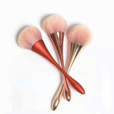 Metallic Makeup Brush, Multifunctional Brush with Small Waist Shape of Electroplating Plastic