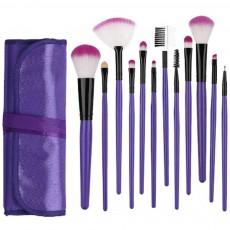 12PCS Makeup Brushes Set Makeup Brushes for Eye-shadow Concealer Eyeliner Brow Blending Brush Cosmetic Tool