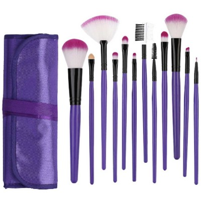 12PCS Makeup Brushes Set Makeup Brushes for Eye-shadow Concealer Eyeliner Brow Blending Brush Cosmetic Tool