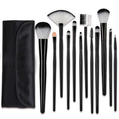 Professional Eye Makeup Brushes Set, 12PCS Makeup Brush Set with Brush Barrels for women