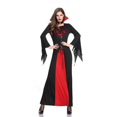 Vampire Costume Queen Dress For Halloween Easter Christmas Halloween Costume For Women Adult Cosplay Dress Role Playing Costume Halloween