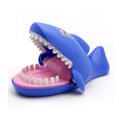 Small Tricky Animal Toys, Lifelike Teeth Finger Biting Toy with Lights and Sound Effects, Perfect Gift for Children