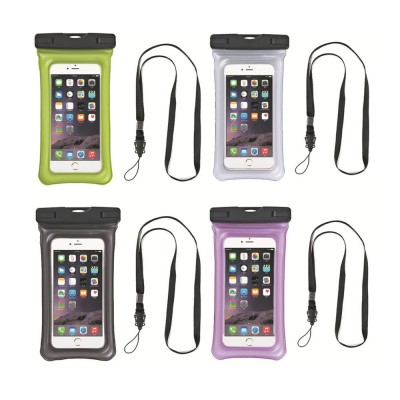Aerated Floating Waterproof Phone Case for Outdoor Activities, PVC Outdoor Waterproof Air Bag