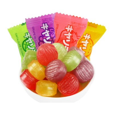 Fruit Flavor Hard Candy for Wedding Snacks, Mixed Package Multiple Flavor Bulk Package Hard Candies, Grape Lemon Flavor