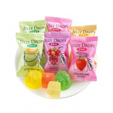 Fruit Flavor Soft Candy for Wedding Snacks, Mixed Package Multiple Flavor Bulk Package Soft Candies