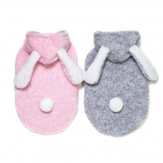 Plush Cats Two-feet Pet Clothes, Cute Rabbit Ears Model, Stylish Pet Clothes Costume Apparel