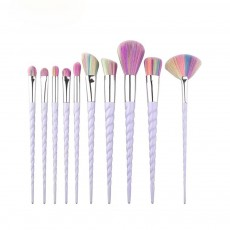 Unicorn Makeup Brushes Set, Pretty Eyeshadow Blending Foundation Powder Blush, 5PCS, 10PCS