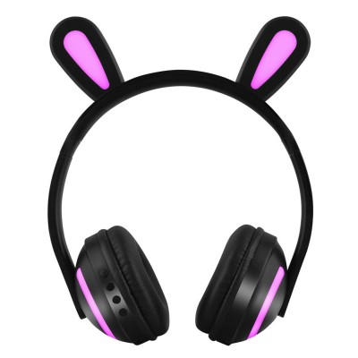 New Cat Ear Bluetooth Headset, Head-mounted Bluetooth Headset for Boys, Wireless Game Headphones