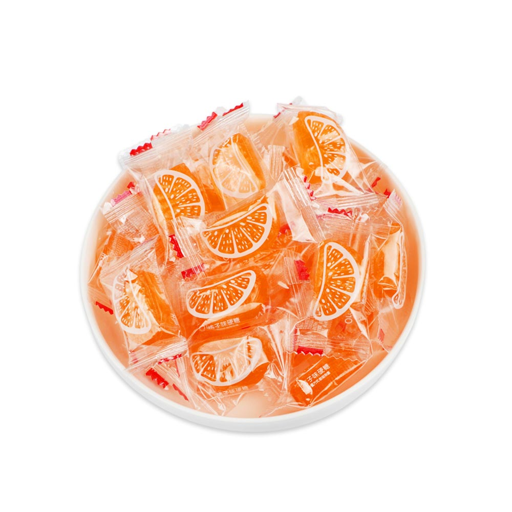 Orange Flavor Hard Candy for Wedding, Traditional Orange Segment Shape Candy of 0.5KG as One Package