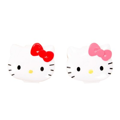 Cute Hello Kitty Medicine Pill Container Box 4 Slots