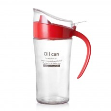 Large Capacity Oil Pot for Putting Oil, Soy Sauce, 500g Glass Seasoning Bottle