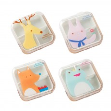 Cartoon Animal Cute Pill Box, Best Travel Pill Container for Daily Use, 4 Grids