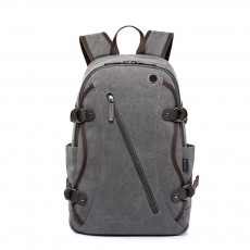 Fashion Vintage Canvas Men Laptop Backpack Messenger Shoulder Bag, Large Capacity Travel Bag Computer Notebook School Bag