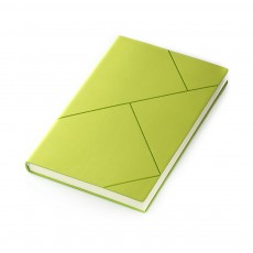Fashion Geometric Soft PU Leather A5 Notebook Journal Diary, Uncoated Wood-free Paper Schedule Planner Memo Organizer