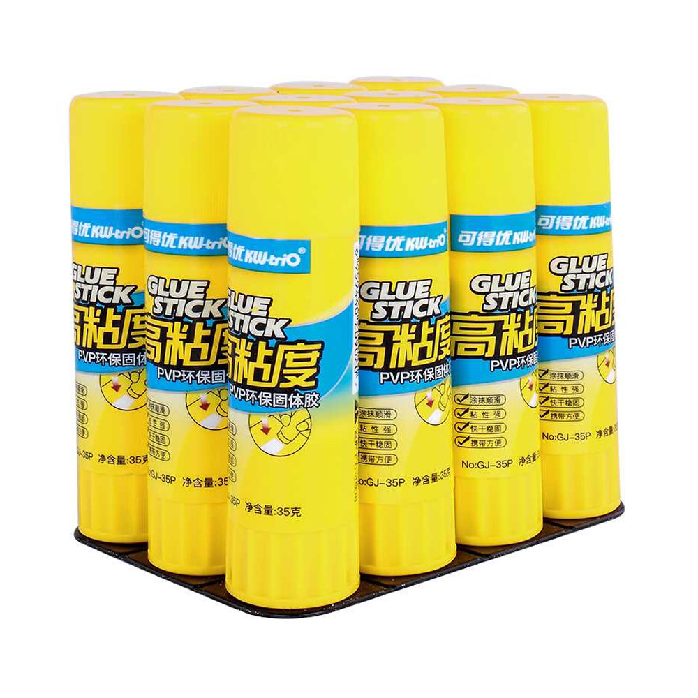 Large Amount PVA/PVP Solid Glue Stick Strong Glue Adhesive Solid Gum Office School Supplies