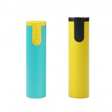 Mini Portable Cylinder Power Bank, 2600mAh Battery Charger for Smart Phone, Battery Charger Case with Flashlight