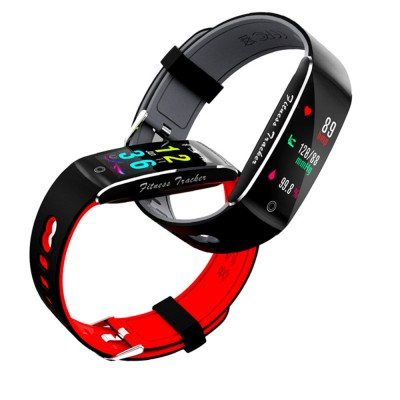 Waterproof Sports Bluetooth Smart Bracelet with Silicone Ultra-soft Watchband for Call Reminder and Rate Monitoring