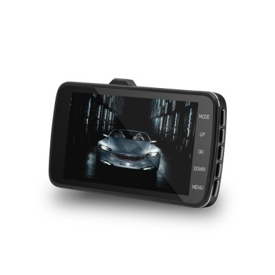 Driving Recorder 4 Inch Large Screen HD Front and Rear Double Recording Hidden 1080P Reversing Image Machine for Uber Taxi