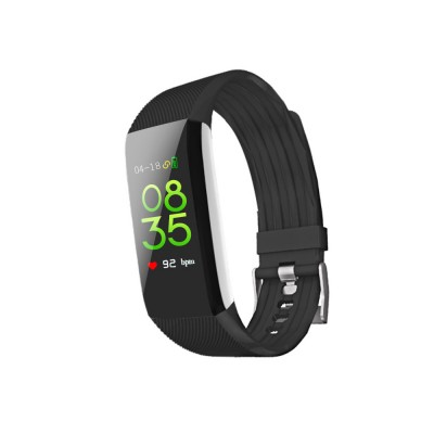 Waterproof Circle Color Screen Smart Bracelet with Multiple-sports Modes for Continuous Heart Rate Monitoring