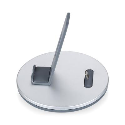 Aluminum Desktop Mobile Phone Charging Base Station Holder for Apple Android Smart Phone