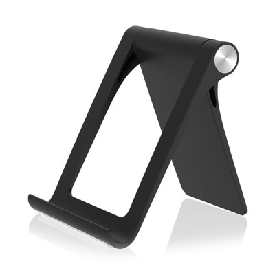 Creative Aluminum Mobile Phone Flat Desktop Stand, Universal Fold Live Broadcast Phone Stand