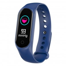 Waterproof Color Screen Smart Bracelet with Multiple-sports Modes for Heart Rate & Oxygen Monitoring