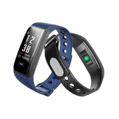 Color Screen Smart Bracelet, Step Counter Fitness Tracker with USB Quick Charge for Heart Rate Monitoring and Blood Pressure Monitoring