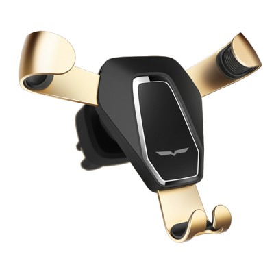 Car Phone Holder Air Outlet Gravity Bracket, Creative Car Navigation Bracket For Cell Phone