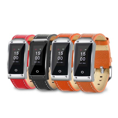 Smart Bracelet with GPS Positioning for Continuous Heart Rate Monitoring and Call Reminder