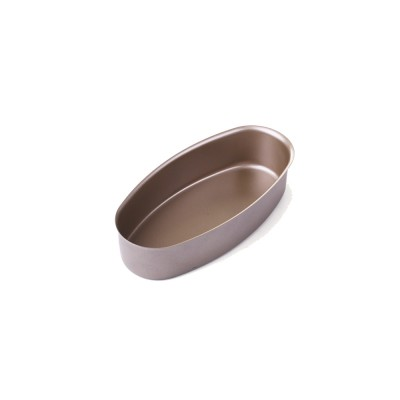 Oval Cheese Cake Mold, Non Stick Carbon Steel Cake Pan Pudding Mold Baking Tray
