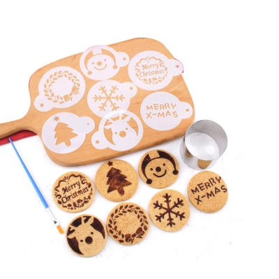 Mini Christmas Cookie Cutter Set, Stainless Steel Biscuit Mold Set
