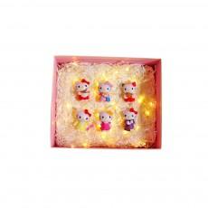 Cartoon Cute Doraemon Hello Kitty Small Dolls Toys Gift Box For Girls Ladies Children